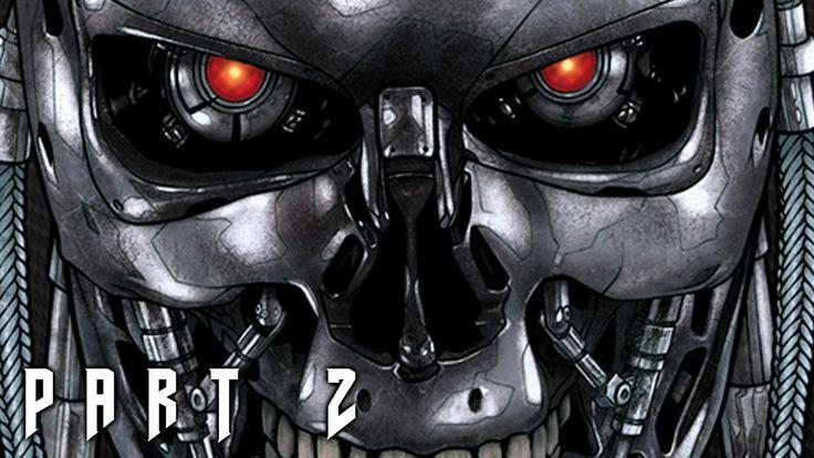Terminator 2 Judgment Day in DOOM 4 Walkthrough Gameplay Part 2 (PS4)