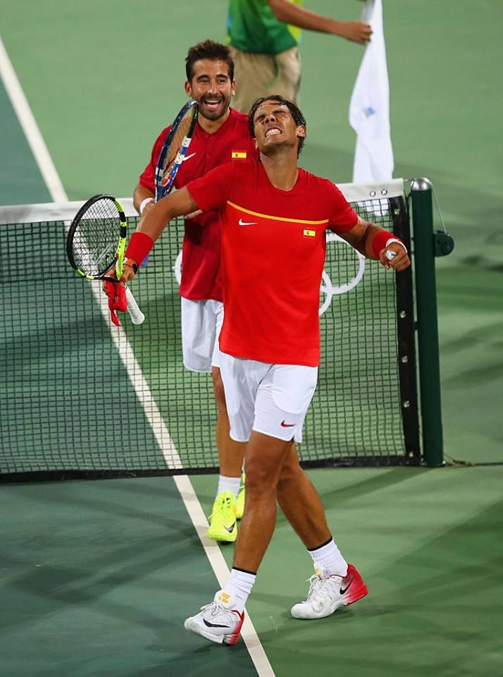 PHOTOS/VIDEO: Rafael Nadal and Marc Lopez reached the quarterfinals at the Rio Olympics. - 9 Августа 2016 - RAFA NADAL - KING OF TENNIS
