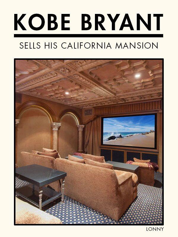 Kobe Bryant Sells California Mansion Gym Room At Home Mansions