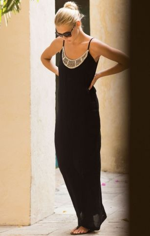 TOUCHE Onix Maxi Dress SHOP AT www.rosatocollections.com www.facebook.com/rosatocollectionsonline