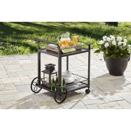 Free 2-day shipping. Buy Better Homes and Gardens Carter Hills Outdoor Serving Cart at Walmart.com