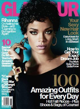 Glamour USA - November 2013 with Rihanna