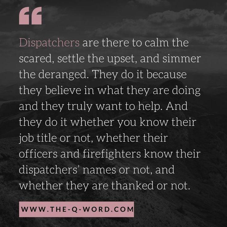 Pin on Dispatchers