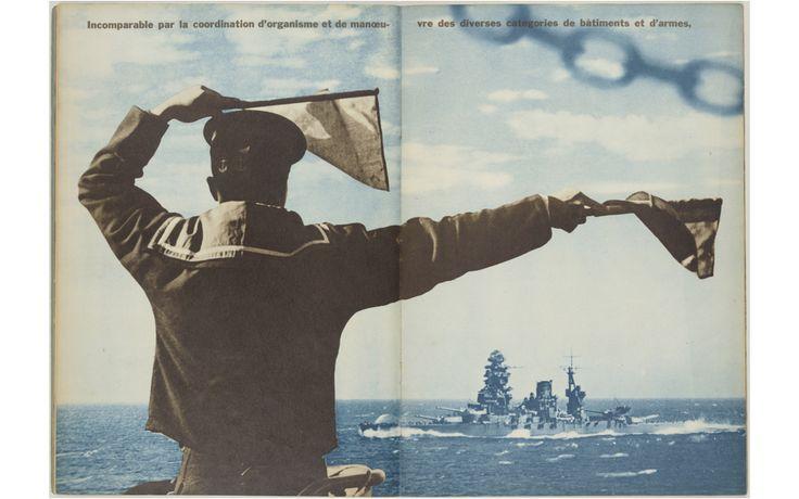 『FRONT』1・2号(海軍号) 1942 東方社 日本カメラ財団蔵