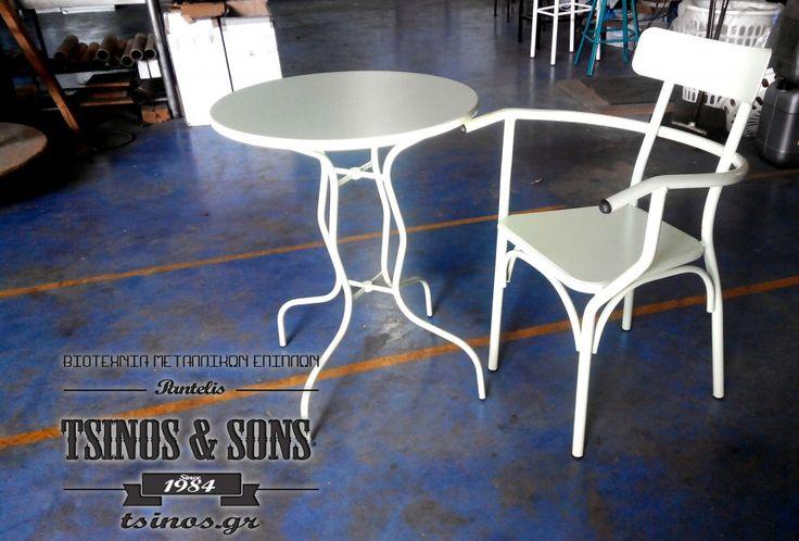 #Metalfurnituremanufacturing #furnituremanufacturing #Tsinos.gr #Metalchair #Amazingdesign #horeca #3dchair #madeingreece #cafefurniture #barfurniture #restaurantfurniture #cnctubebender #industrialdesign #metal