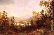 Autumn on the Hudson  by Jasper Francis Cropsey