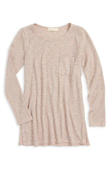 Soprano Rib Knit Tee (Big Girls)
