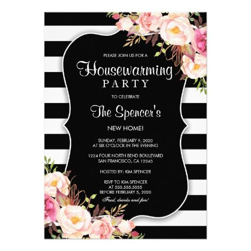 Best Housewarming Party Invitations Images On