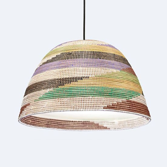 """Design Activist"" Bridging African Traditions with Modern, Re-Invented Basket Lamps (Video) : TreeHugger"