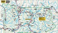 Plan your transportation or road trip itinerary with maps of 10 different routes to choose from that will help map out your Yellowstone vacation.