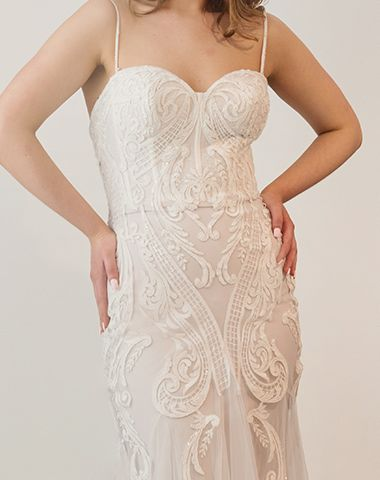 Lace detail by Peter Trends Bridal