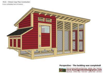 home garden plans m101 chicken coop plans construction chicken coop design how - Chicken Coop Ideas Design