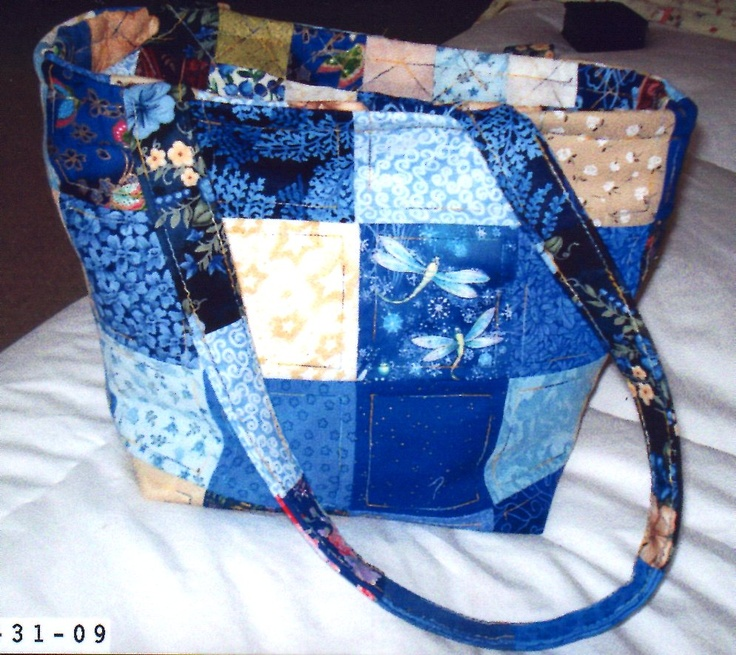 Quilted Knitting Bag Pattern : Curated homemade pocketbooks ideas by crazyquilter