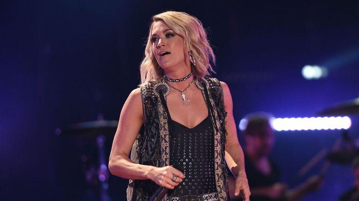 Carrie Underwood Records a New 'Sunday Night Football' Theme Song #headphones #music #headphones