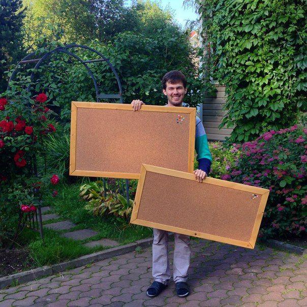 Corky Boards - пробковые доски на стену ручной работы. www.corkyboards.ru