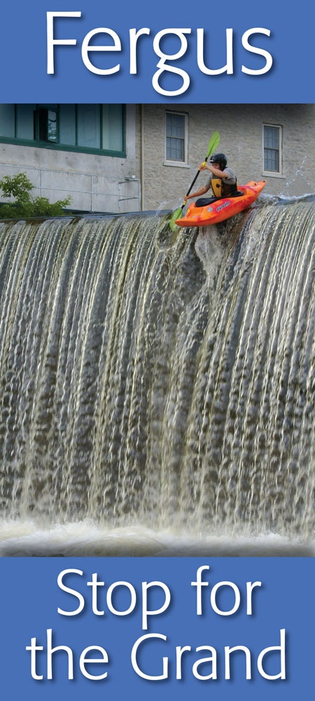If you have a kayak ... we have the river ... right here in Downtown Fergus  https://www.facebook.com/pages/Downtown-Fergus/117343701609424