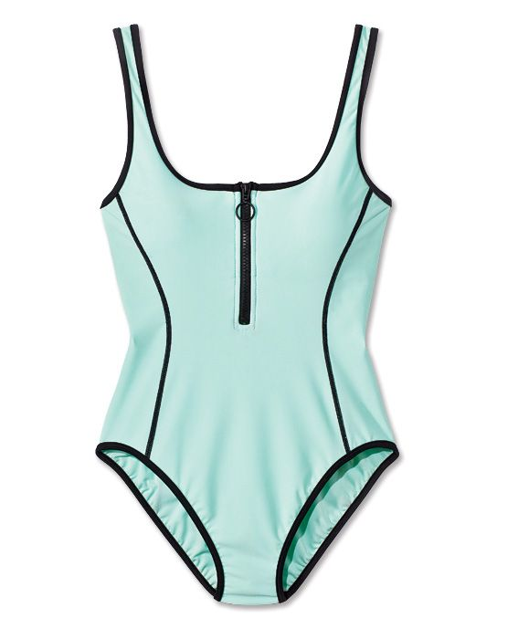 The 20 Most Flattering One-Piece Swimsuits - Juicy Couture Sport from #InStyle