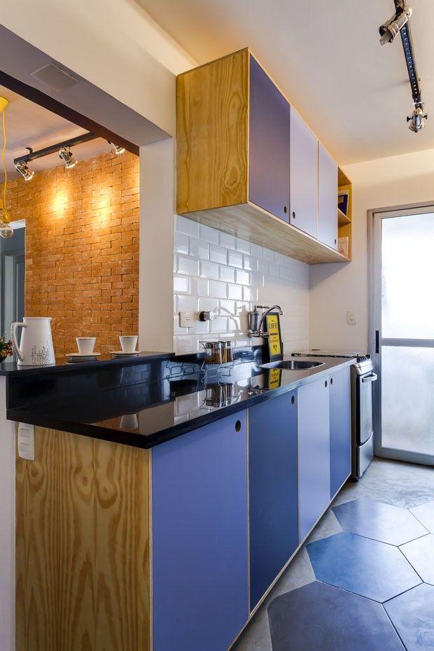 Studio dLux Arquitetura, bancada cozinha