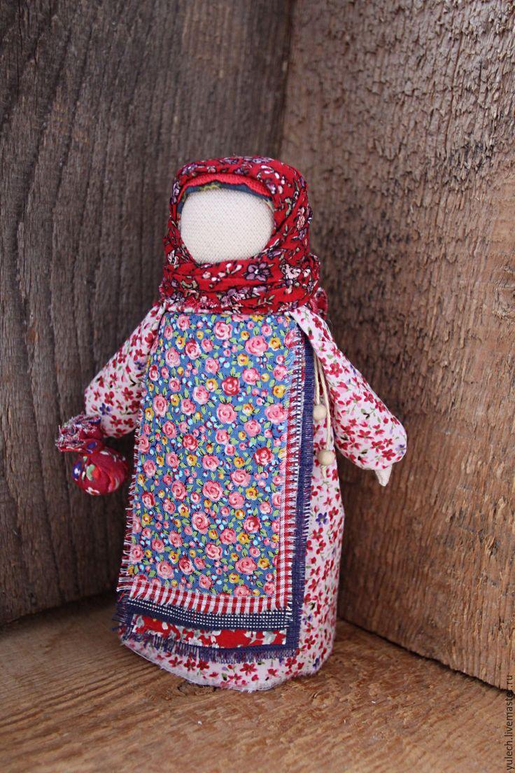 """Купить Куколка - подорожница народная русская """"В путь..."""" - комбинированный, народная кукла"""