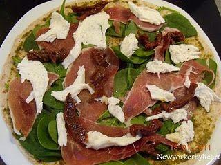 Italienske wraps med skinke og mozzarella (Magasinet Mad nr. 1/2011)