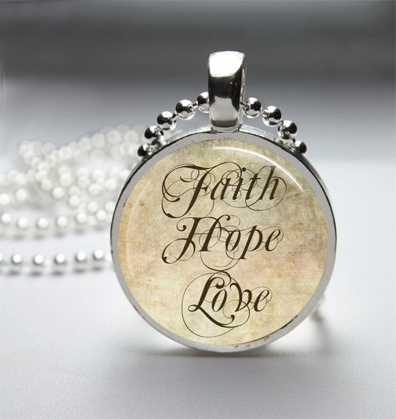 11 best images about faith hope love on pinterest for Faith hope love jewelry