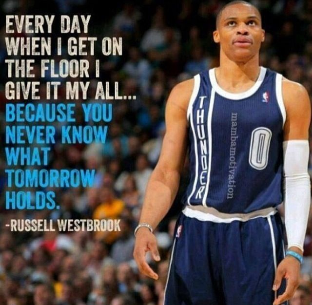 Nba Quotes: Best 25+ Russell Westbrook Ideas On Pinterest