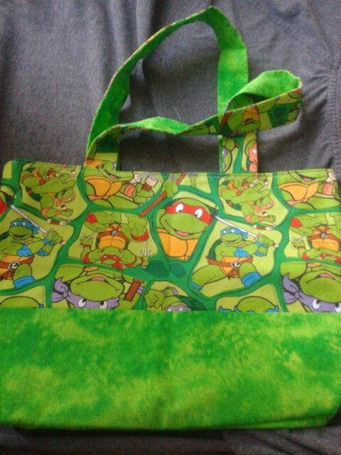 Ninja turtle tote