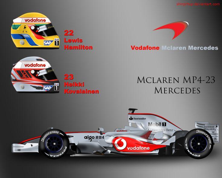 McLaren MP4-23 by ShinjiRHCP.deviantart.com on @deviantART