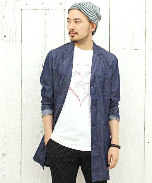 サラッと羽織れるのがいい。春夏のファッション アイテム メンズショップコート コーデを集めました。