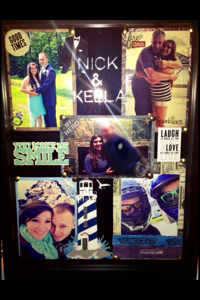 Shadow Box for Valentine's Day! <3