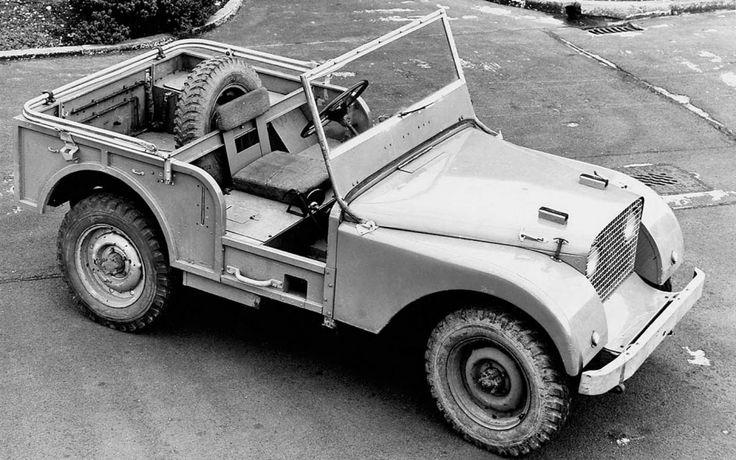 """Des SerieS' de légende - Le Temps des Series' - Prototype à conduite centrale (fortement inspiré Jeep) - idem Jeep 80"""" mais voies à + 2"""""""