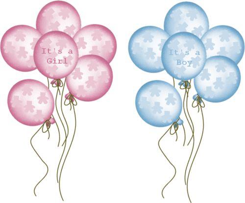 Baby Balloons Clip Art Baby Clipart Baby Boy