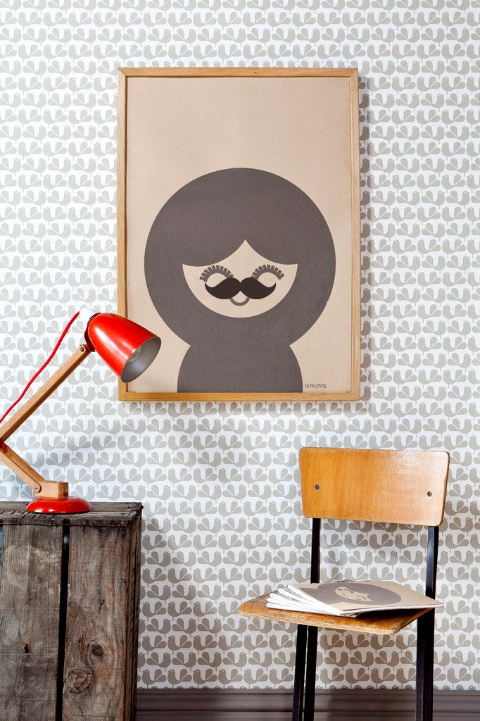 Inspire Decor Movember Wall Art Madness