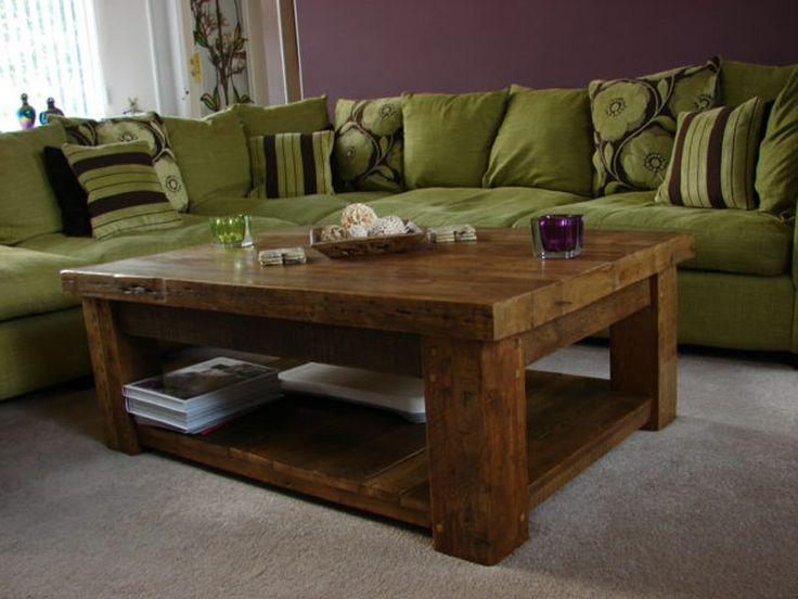Wooden Coffee Tables #eatsleeplive #reclaimedwood #livingroom