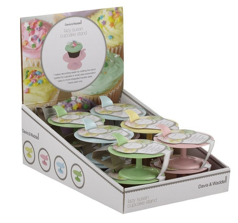 Lazy Susan Cupcake Decorating Stand When it comes to ...