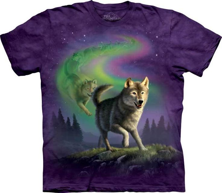G Wilikers T Shirts Aurora Wolf Pack 18 95 100 Cotton