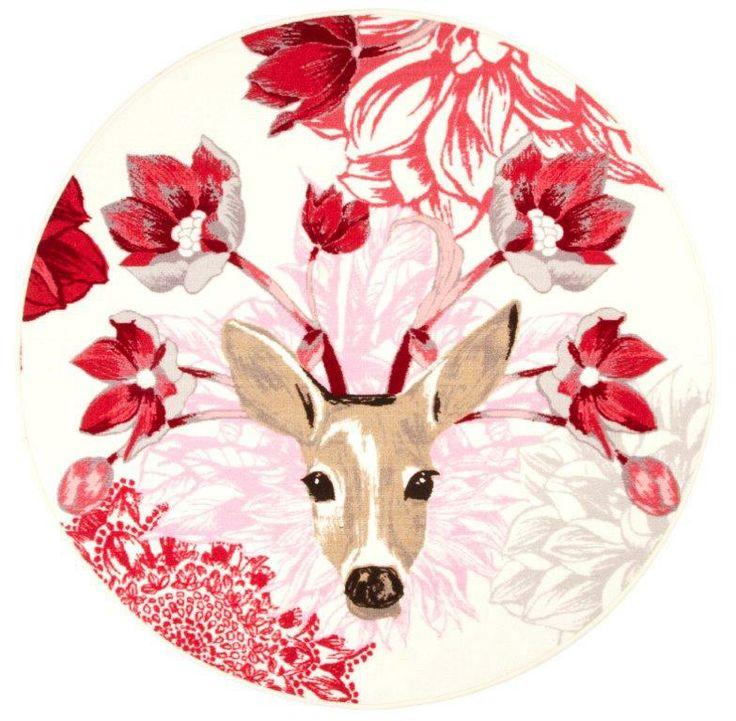 Vallila Interior - Kauris white pink rug