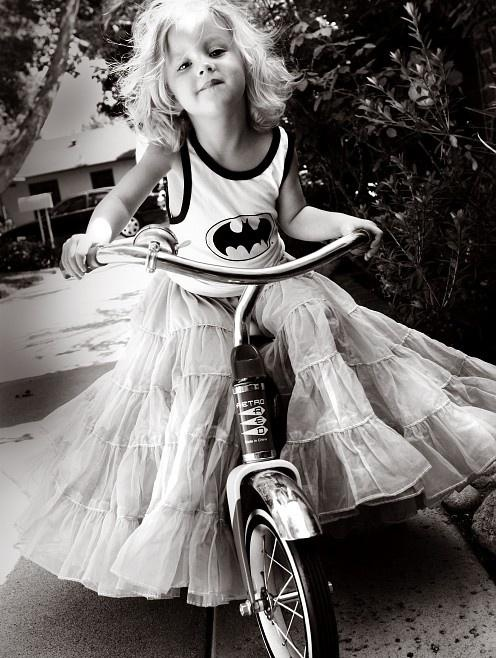 superhero in a tutu.