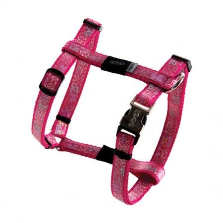 Rogz Lapz Trendy Dog Harness Pink - Medium