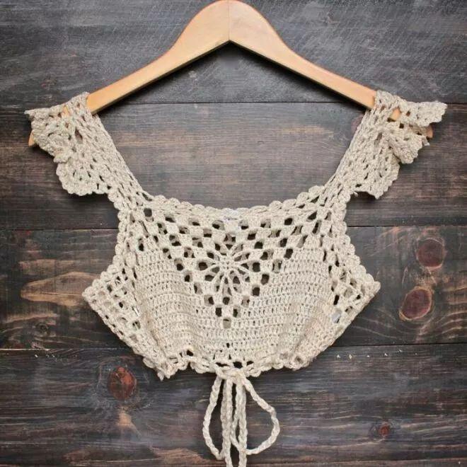Tops Tejidos En Crochet - $ 60.000 en MercadoLibre