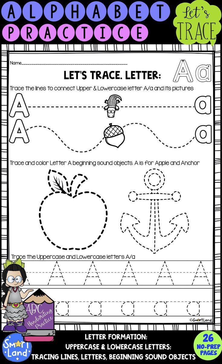 Alphabet Handwriting Practice Tracing Activities Alphabet Handwriting Practice Handwriting Practice Letter Formation Activities [ 1201 x 735 Pixel ]