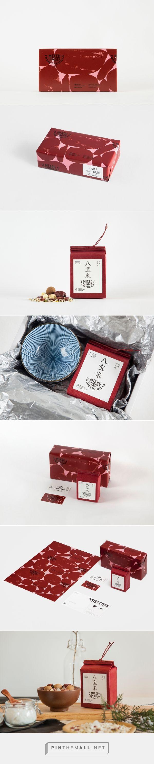小山风物 八宝米礼盒 on Behance - created via https://pinthemall.net