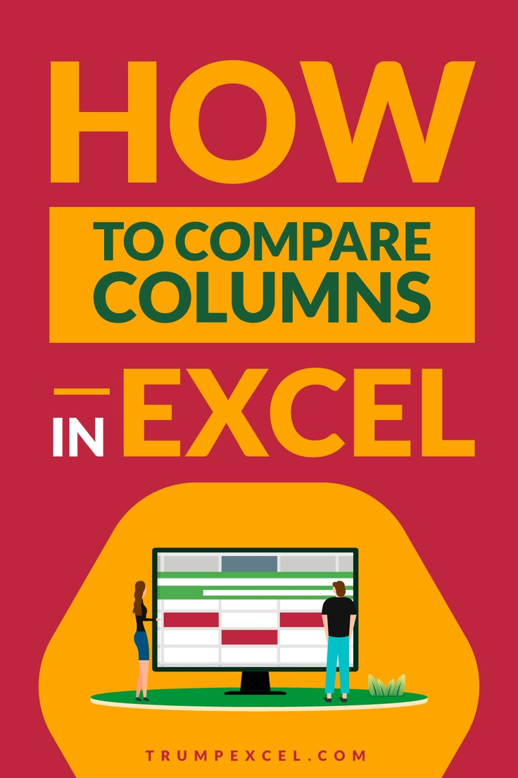 How To Compare Two Columns In Excel For Matches Differences Excel For Beginners Microsoft Excel Tutorial Excel