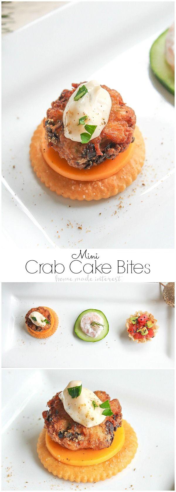 Sip and bite crab cake recipe