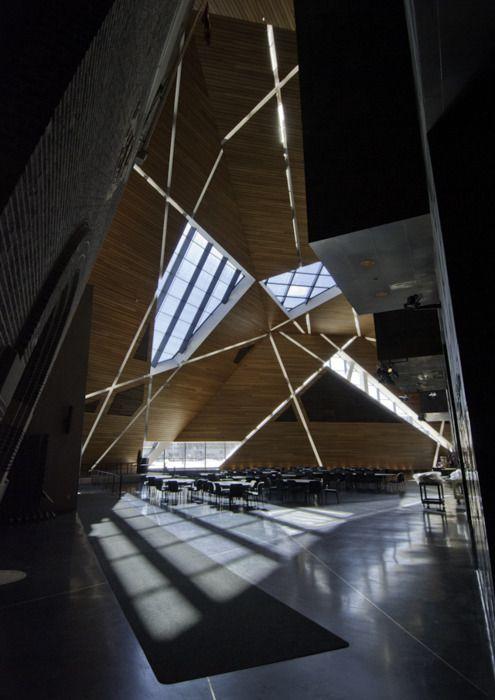 ANTOINE PREDOCK ARCHITECT, MCNAMARA ALUMNI CENTER: at university of minnesota, minneapolis.