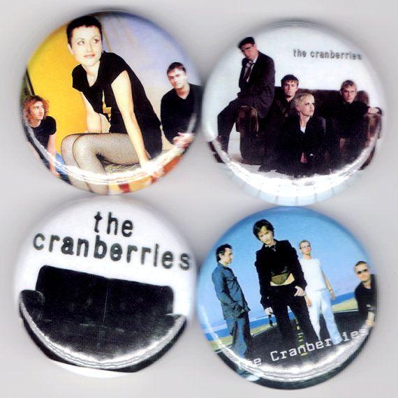 The Cranberries | Dolores O'Riordan No Need To Argue Alternative Folk Rock Buttons Pins Badges Pinback