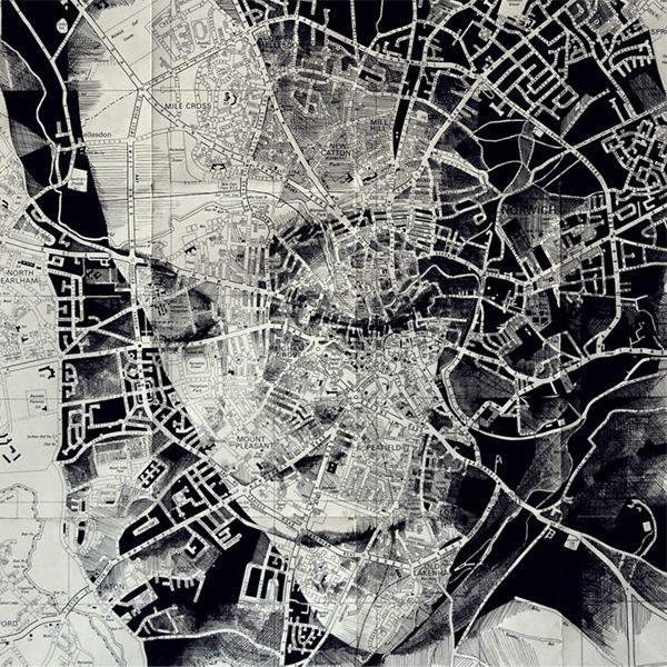 Ed Fairburn, Map Portraits