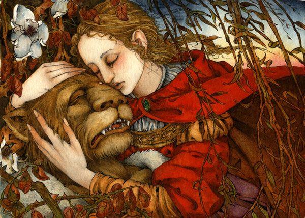 Сказочные Иллюстрации: Сказки - Красавица и Чудовище