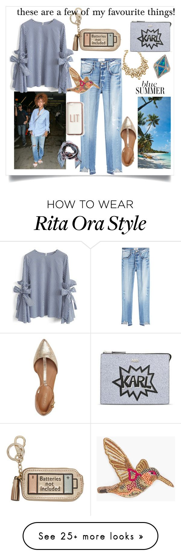 """""""These are a few of my favourite things!"""" by jennyharris168 on Polyvore featuring Chicwish, Oscar de la Renta, Frame, Anya Hindmarch, Calvin Klein, Noor Fares, Chico's, Karl Lagerfeld, Valentino and Missguided"""