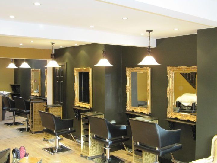 Tatiana Hair Extensions Salon Interior Design Decor Manchester UK